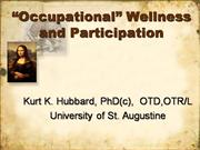 Occupational Wellness 1