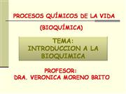 introduccion a la bioquímica