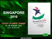 SINGAPORE 2010-Youth Olympic Games
