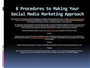 8 Steps to Developing Your Social Media Marketing