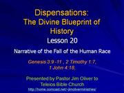 Dispensations Lesson 20