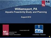 Williamsport Pool Feasibilty Study Survey Presentation