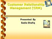 crm presentation