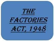 the factories act