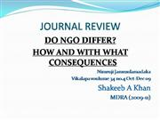 do ngo differ and in what context