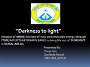 solar home lighting PPT