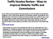 Traffic VooDoo by Jeff Johnson is Coming