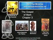 Bible Study  Mark 3:1-6