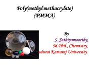 Poly(methyl methacrylate)