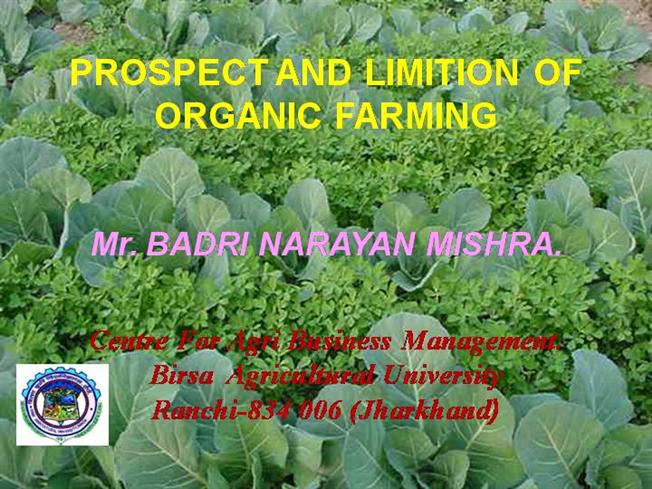 Prospects of organic farming in the north-east   business   nelive.