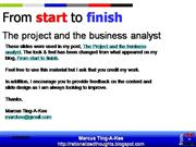 The-Project-and-the-Business-Analyst