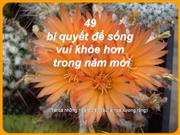 49 cach song khoe - Artist Unknown