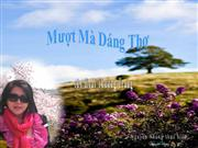 Muot Ma Dang Tho- Nguyen Nhung thuc hien-tho:Thuong hoai Trang