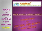 Ashmax the KEY to SUCCESS  Presentation