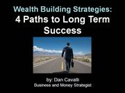 Wealth Building Strategies 4 Paths to Long Term Success