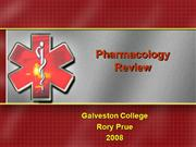 Pharmacology Review2008