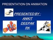INTRODUCTION OF ANIMATION