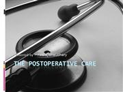 POST OPERATIVE CARE UNIT presented by Dr. Neeraj Chaudhary