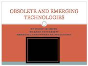 emerging and future technologies