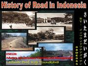 History of Road in Indonesia_by.imma