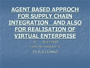 SUPPLY CHAIN MANAGEMENT ---