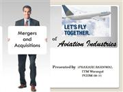 Merger and acquisition in Aviation industry