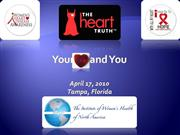 Women and Heart Disease Lecture April 17 Tampa