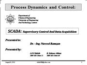 Scada (Supervisory Control and Data Acquisition)
