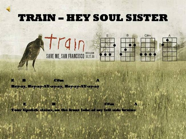 Train Hey Soul Sister Authorstream