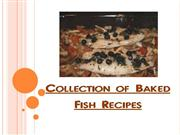 collection of baked fish recipes