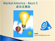 market america basic five to be success