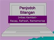 penjodoh bilangan e-learning p4