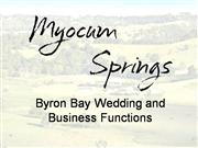 Byron Bay Wedding Reception