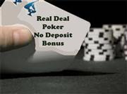 real deal poker no deposit bonus review