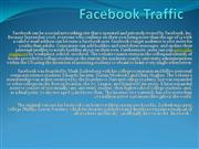 Facebook Traffic