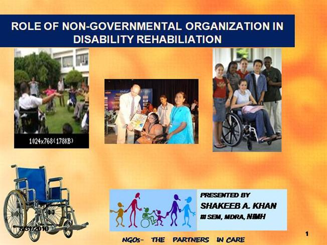 ROLE of NGO in DISABILITY REHABILITATION |authorSTREAM