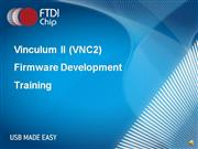 VNC2 Web Training - Software (Part Two)