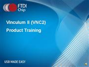 VNC2 Web Training - Chip Intro (Part One)