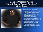 Decorated Disabled American Vietnam Veteran Gives Back