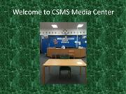 Welcome to Coral Springs Media Center-the video