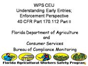 WPS CEU-Understanding Early Entry Exceptions-Enforcemen