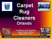 carpet rug cleaners orlando 321-216-1442