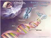 Biochip A help in gene therapy