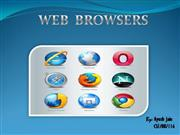 Web Browsers by Ayush Jain
