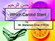 which carotid stent