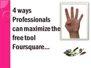 4 ways Professionals can maximize the free tool