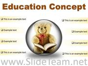 EDUCATION CONCEPT FUTURE POWERPOINT PRESENTATION SLIDES C