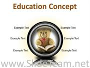 EDUCATION CONCEPT FUTURE POWERPOINT PRESENTATION SLIDES CC