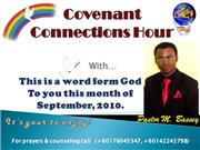 a word from god to you ... this month september 2010.