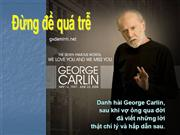 Dung qua tre - George Carlin:The Seven famous words